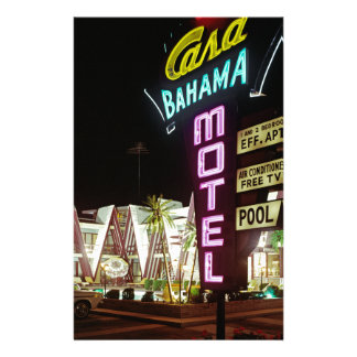 Casa Bahama Motel in Wildwood, New Jersey, 1960's Stationery