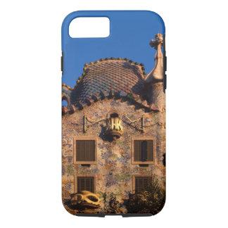Casa Batilo, Gaudi Architecture, Barcelona, iPhone 7 Case