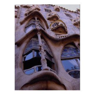 Casa Batllo, Barcelona, Spain Postcard