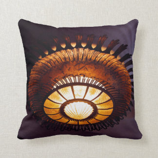 Casa Batllo interiour chandellier Cushion