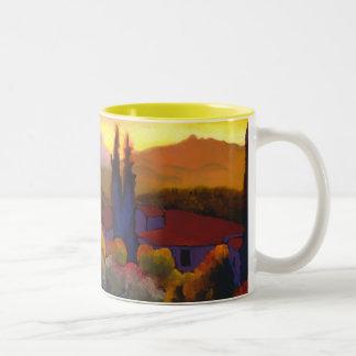 Casa Cares Sunset Two-Tone Coffee Mug