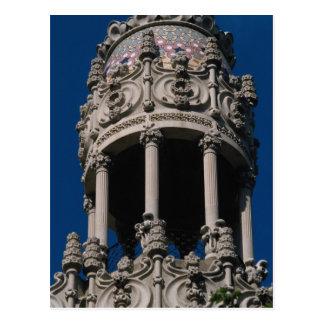 Casa Lleo Morera, Barcelona, Spain Postcard