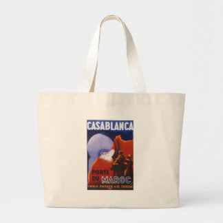 Casablanca Vintage Travel Large Tote Bag