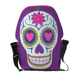 CasaQ Dulce Amor Calavera Messenger Bag