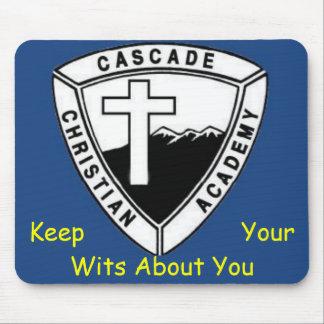 Cascade Christian Academy Mousepad