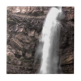 Cascade Falls 01 Small Square Tile