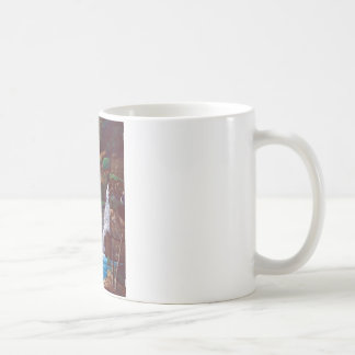 Cascade of mountain inner part coffee mug
