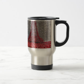 Cascade of Poppies - Tower of London Travel Mug