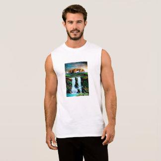 Cascade of ururu sleeveless shirt