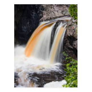Cascade River Falls Postcard