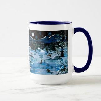 Cascade Snowflake Travel Mug
