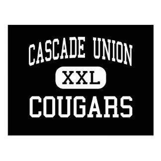 Cascade Union - Cougars - High - Turner Oregon Postcard