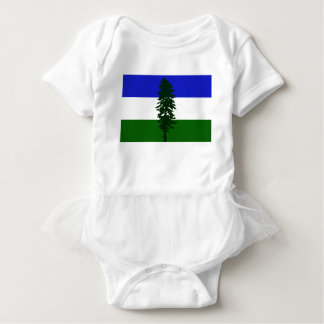 Cascadia Flag Baby Bodysuit