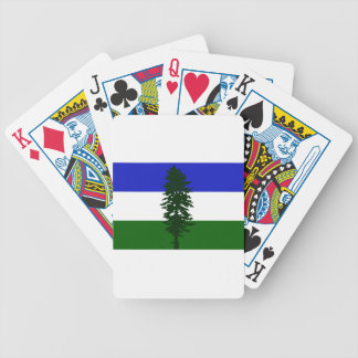 Cascadia Flag Bicycle Playing Cards