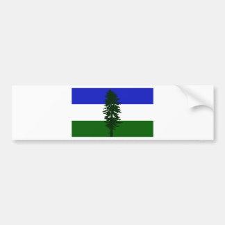 Cascadia Flag Bumper Sticker