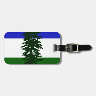 Cascadia Flag Luggage Tag