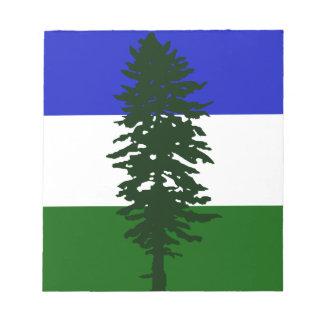 Cascadia Flag Notepad