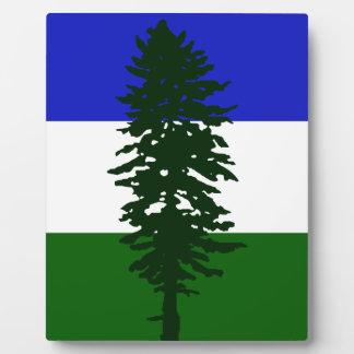 Cascadia Flag Plaque