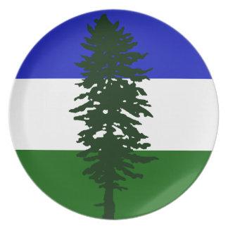 Cascadia Flag Plate