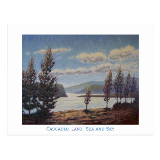 Cascadia: Land, Sea and Sky Postcard