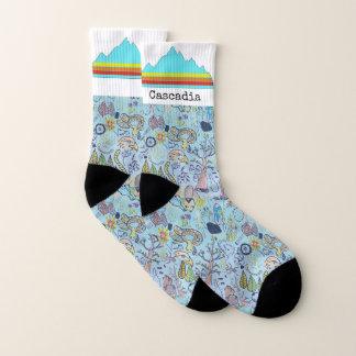 Cascadia socks 1
