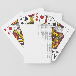 Cascading Binary Playing Cards