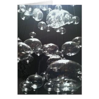Cascading Bubbles Card