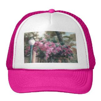 Cascading Flowers hat