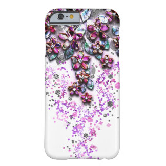 Cascading Flowers - Mother of Pearl Confetti Barely There iPhone 6 Case