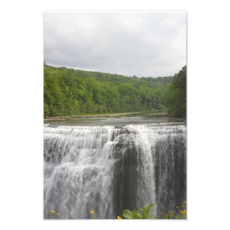 Cascading Waterfall Photo Print