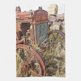 Case and Bales Tractor Kitchen Towel