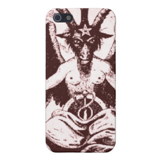 Case Baphomet Old Style iPhone 5/5S Covers