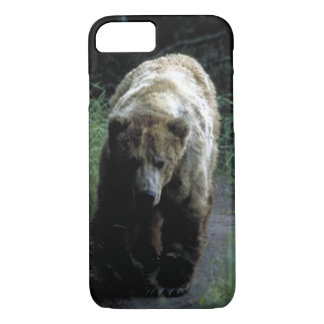 "Case  Barely There  for iPhone 7 ""Grizzly bear"""