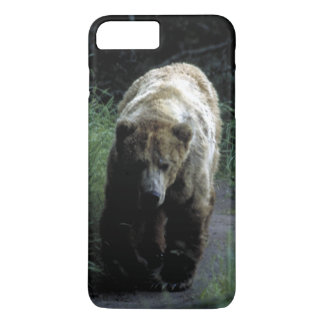 "Case Barely There for iPhone 7+ ""Grizzly bear"""