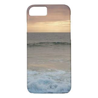 Case: Beach waves after sunset iPhone 7 Case