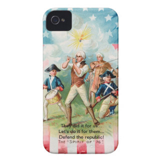 "Case /Blackberry Case w/ ""SPIRIT OF 76""-""They did iPhone 4 Case-Mate Case"