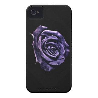 Case Blackberyy-purple rose iPhone 4 Case