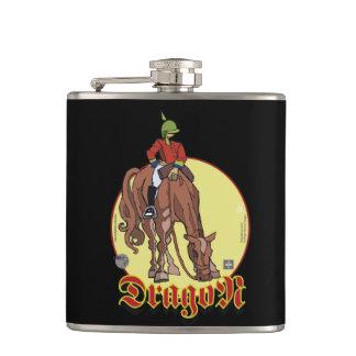Case - Dragoon Sketcher Hip Flasks