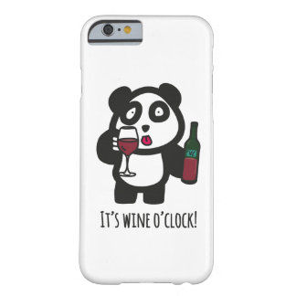 Case - Drinking Panda - It's wine o'clock!