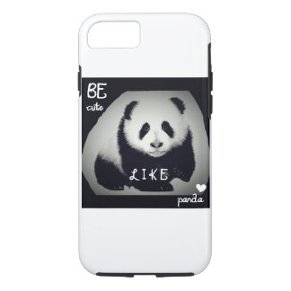 Case for iPhone 7: Be cute like panda
