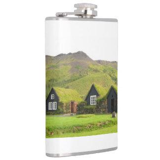 Case grass hip flask