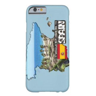 [Case] I'd rather be in Spain Barely There iPhone 6 Case