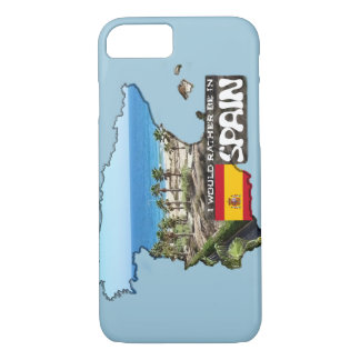 [Case] I'd rather be in Spain iPhone 7 Case