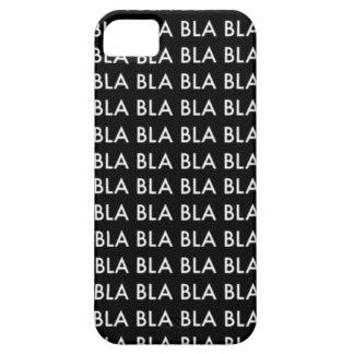 """CASE iPhone 5 """"Blah blah blah BLA """""""