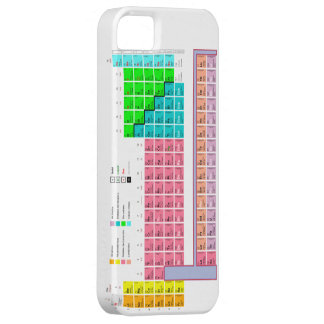 "CASE iPhone 5 ""PERIODIC TABLE "" iPhone 5 Covers"