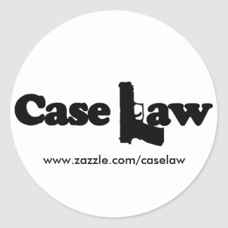 Case Law Stickers
