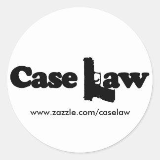 Case Law Stickers