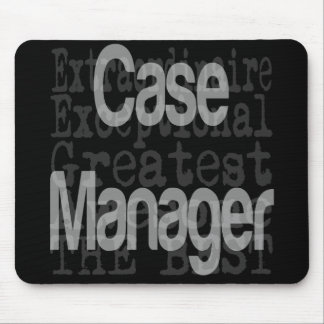 Case Manager Extraordinaire Mouse Pad
