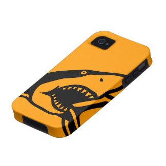 Case-Mate™ Shark Orange iPhone 4 Cases