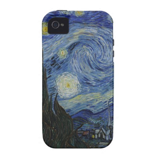 Case-Mate Tough™ iPhone 4 Starry Night Case Case-Mate iPhone 4 Covers